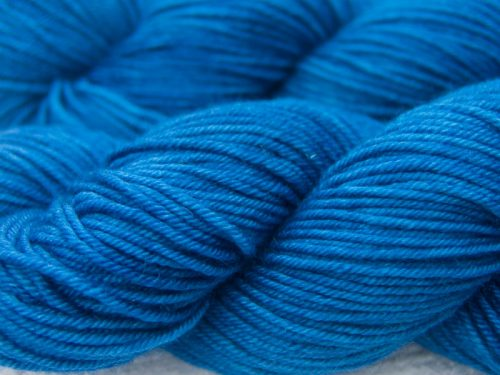 Mid-tone royal blue Hand-dyed by Triskelion Yarn