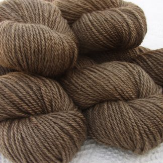 Bluefaced Leicester (BFL) / Masham aran yarn. Hand-dyed by Triskelion Yarn