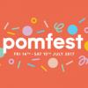 Pomfest 2017 linking to Pom Pom website