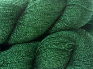"""Emerald"" - recent Luxury Yarn Club Subscriptions at Triskelion Yarn"
