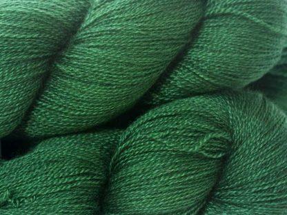 """""""Emerald"""" - recent Luxury Yarn Club Subscriptions at Triskelion Yarn"""
