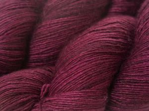 """Oxblood"" - Luxury Yarn Club Subscriptions at Triskelion Yarn"