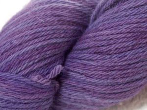 """Violets"" - recent Luxury Yarn Club Subscriptions at Triskelion Yarn"