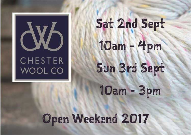 Triskelion Yarn at the theChester Wool Show 2017
