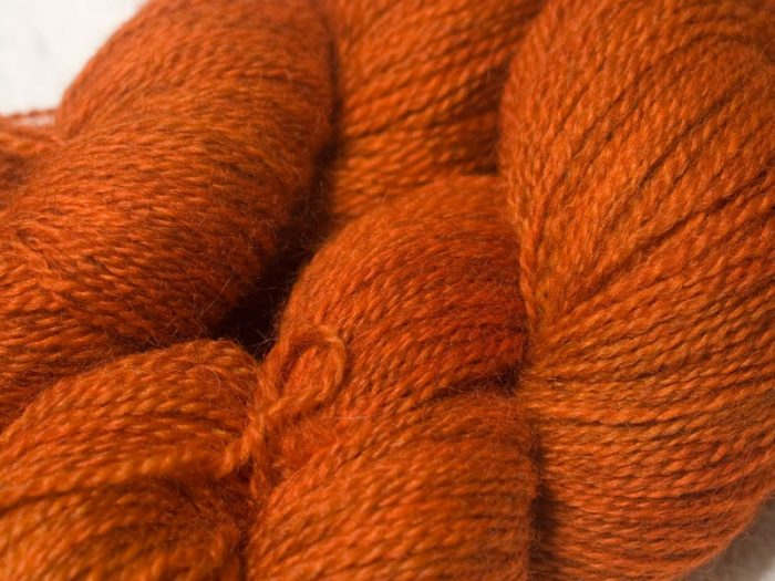 """Autumn Fire"" - - British Yarn Club Subscriptions at Triskelion Yarn"