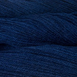 Navigator - Semi-solid midnight blue, with violet and cobalt tones Bluefaced Leicester (BFL) / Gotland dlouble knit (DK) yarn. Hand-dyed by Triskelion Yarn