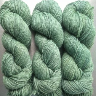 Ran's Net - Pale surf green Bluefaced Leicester (BFL) / Gotland dlouble knit (DK) yarn. Hand-dyed by Triskelion Yarn