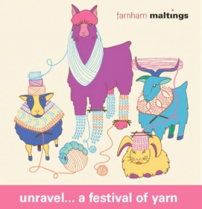 Triskelion at Unravel - a festival of yarn 2020