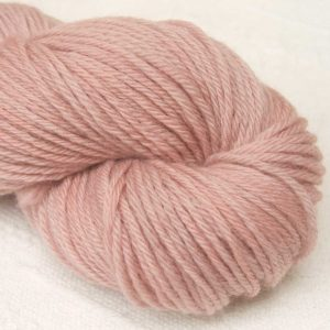Call Me Dolores - Light greyish pink organic Merino DK/ Double Knit yarn. Hand-dyed by Triskelion Yarn