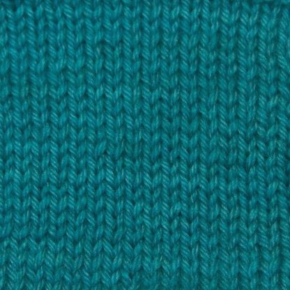Ægir - Light turquoise blue Corriedale heavy DK/worsted weight yarn. Hand-dyed by Triskelion Studio.