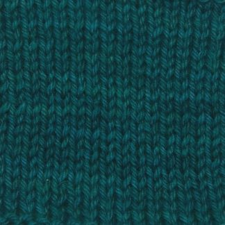 Arfor - Dark teal Corriedale heavy DK/worsted weight yarn. Hand-dyed by Triskelion Studio.
