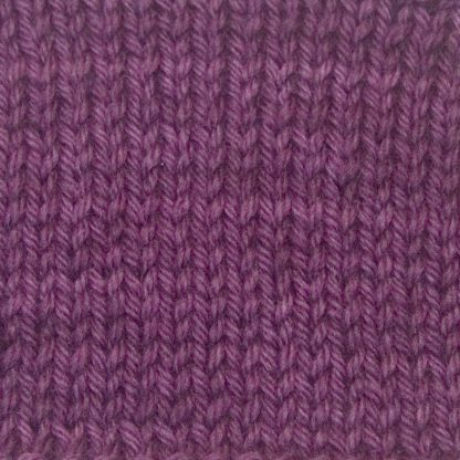 Cepheus - Warm royal purple Corriedale heavy DK/worsted weight yarn. Hand-dyed by Triskelion Studio.