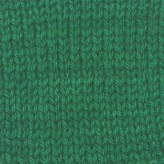 Dinas Emrys - Mid- to dark emerald green Corriedale heavy DK/worsted weight yarn. Hand-dyed by Triskelion Studio.