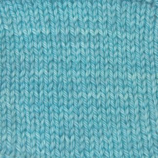 Horizon - Light sky blue Corriedale heavy DK/worsted weight yarn. Hand-dyed by Triskelion Studio.