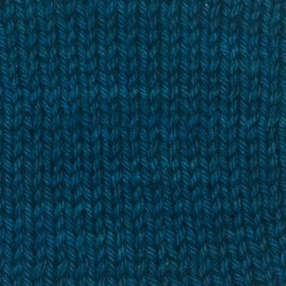 Offing - Dark sea blue Corriedale heavy DK/worsted weight yarn. Hand-dyed by Triskelion Studio.