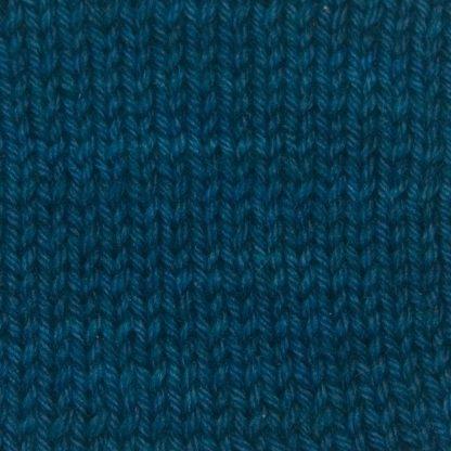 Offing - Dark sea blue Corriedale heavy DK/worsted weight yarn. Hand-dyed by Triskelion Studio.
