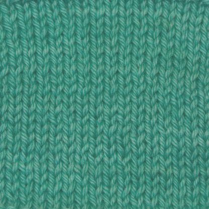 Ran - Light turquoise green Corriedale heavy DK/worsted weight yarn. Hand-dyed by Triskelion Studio.