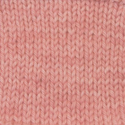 Shell - Light shell pink Corriedale heavy DK/worsted weight yarn. Hand-dyed by Triskelion Studio.