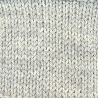 Tern - Pale cool grey Corriedale heavy DK/worsted weight yarn. Hand-dyed by Triskelion Studio.